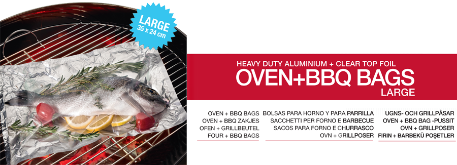 OVEN+BBQ BAGS LARGE